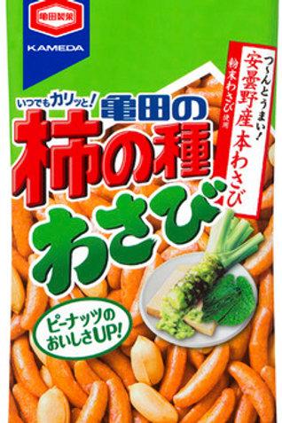 4901313192184柿の種わさび 68g