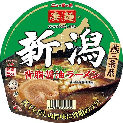4903088011950ニュータッチ 新潟背脂醤油ラーメン