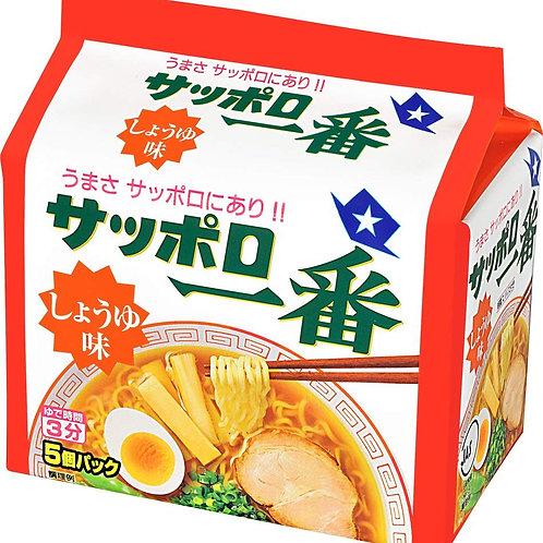 4901734000273サッポロ一番 醤油ラーメン 5食