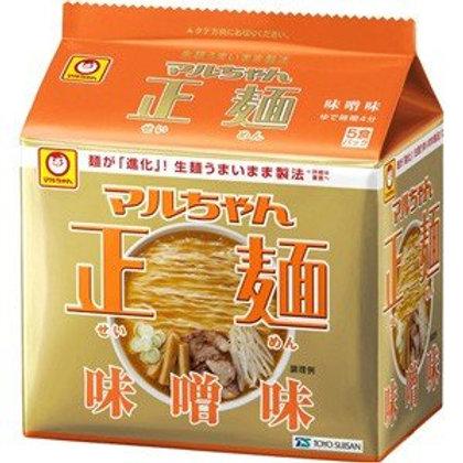 4901990513081マルちゃん正麺 味噌 5食