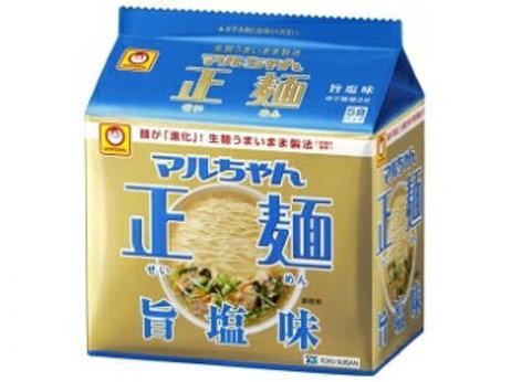 4901990513142マルちゃん正麺 しお 5食