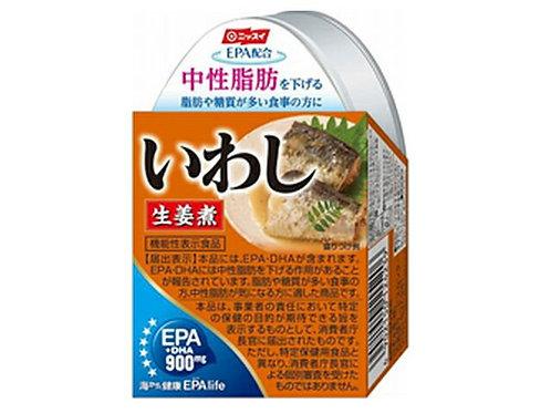 4902150124239EPA配合いわし生姜煮 缶 100g
