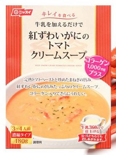 4902150122617紅ずわいがにのトマトクリームスープ 180g