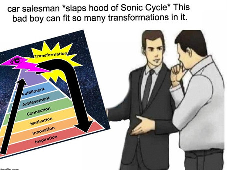 THE SONIC CYCLE: LEVELING UP YOUR LIFE