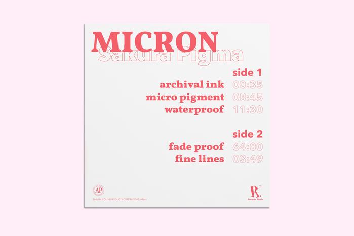 micron by sakura pigma