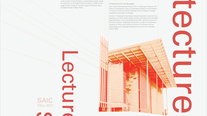 architecture lecture series poster