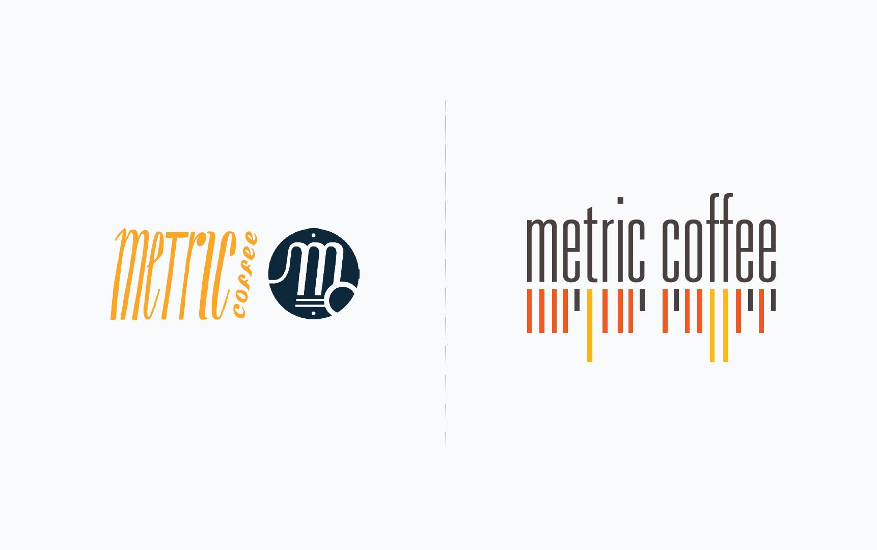 metric coffee identity redesign