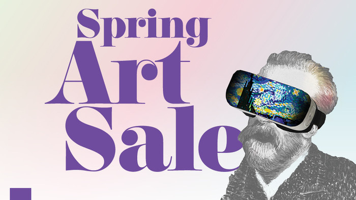 spring art sale @ saic