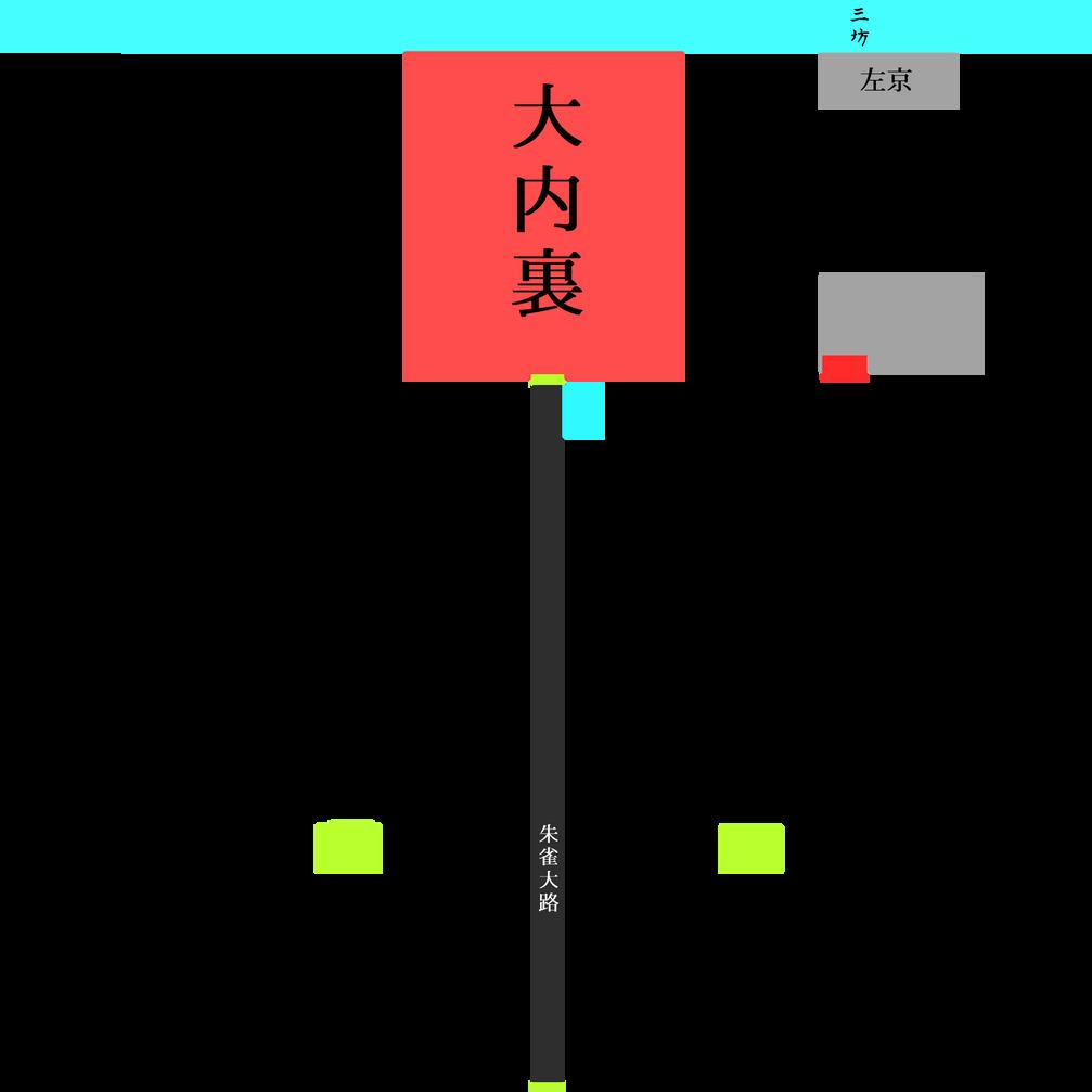 暫定平安京マップ