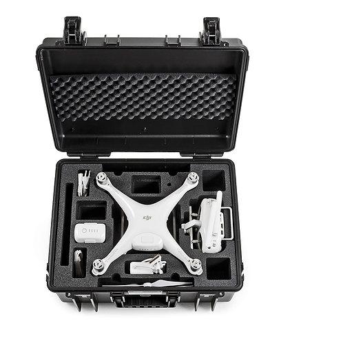 B&W 6000 DJI4, Maleta de protección para dron DJI Phantom 4, para exteriores.