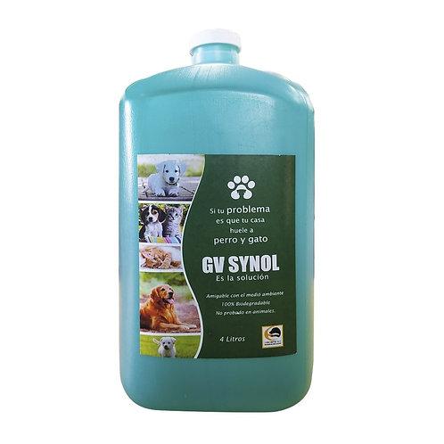 PROPERRO® GV SYNOL 4 Litros Eliminador de Olores Perros Y Gatos *Sin dosificador