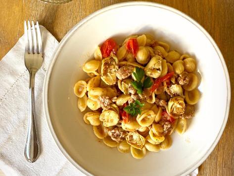 Orecchiette à la saucisse italienne