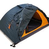 Schwarze und orange Pup Tent | www.rallye-meets-charity.de/machen-sie-mit