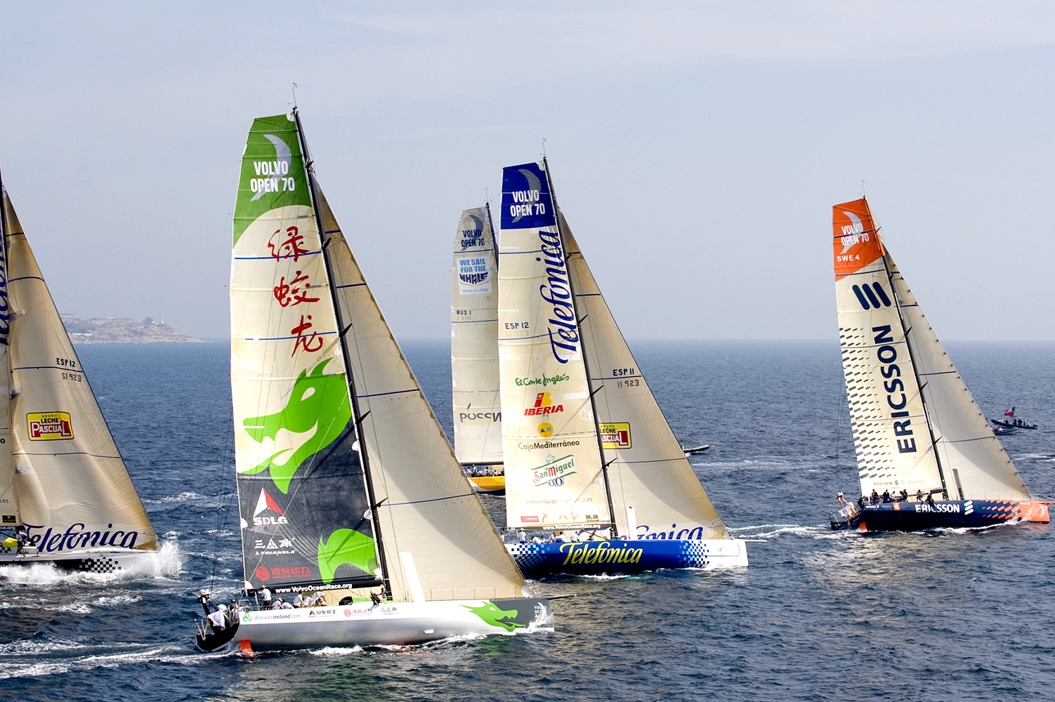 Green Dragon RP70 Volvo Ocean Race