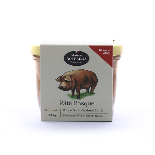 Pâté Basque - Spicy Pork Pâté 180g