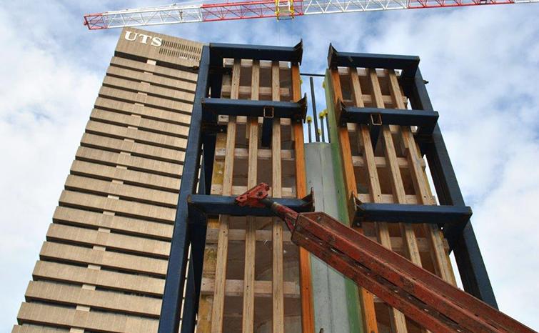 Thomas Street Building Frame Work 03