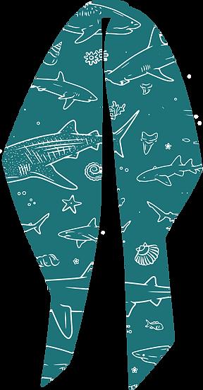 Chunky Shark Hair Tie