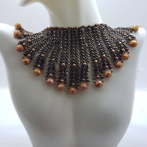 Bronze Egyptian necklace