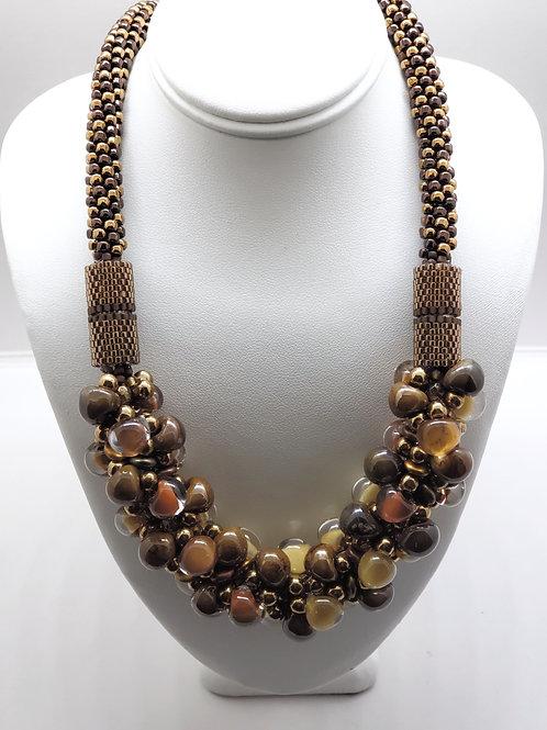 Caramel Sugar Rush necklace