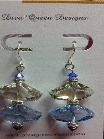 Chunky Ice earrings