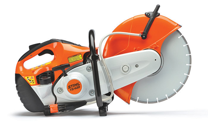 STIHL CONCRETE SAW TS 420