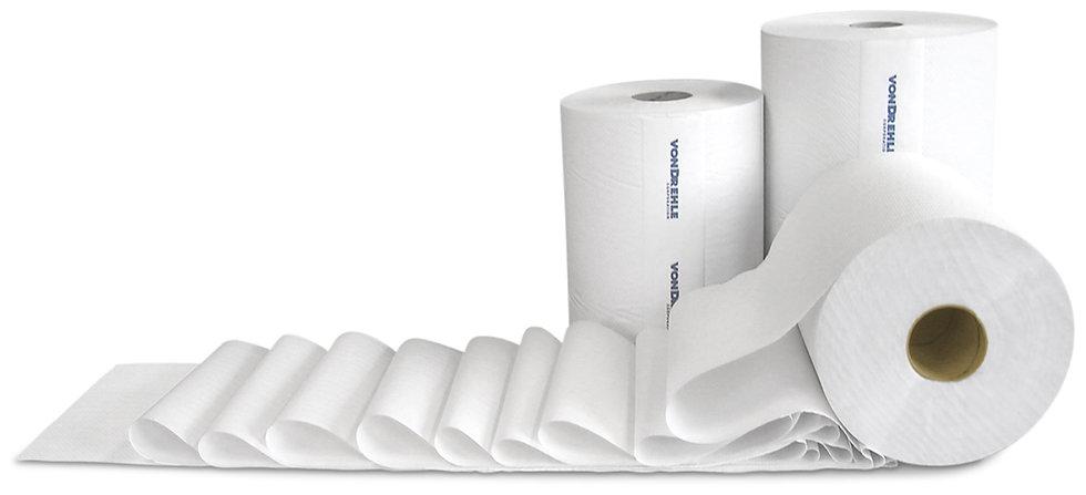 WHITE HARDWOUND TOWELS