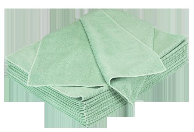 Orange / Burgundy / Green MicroFiber Towel