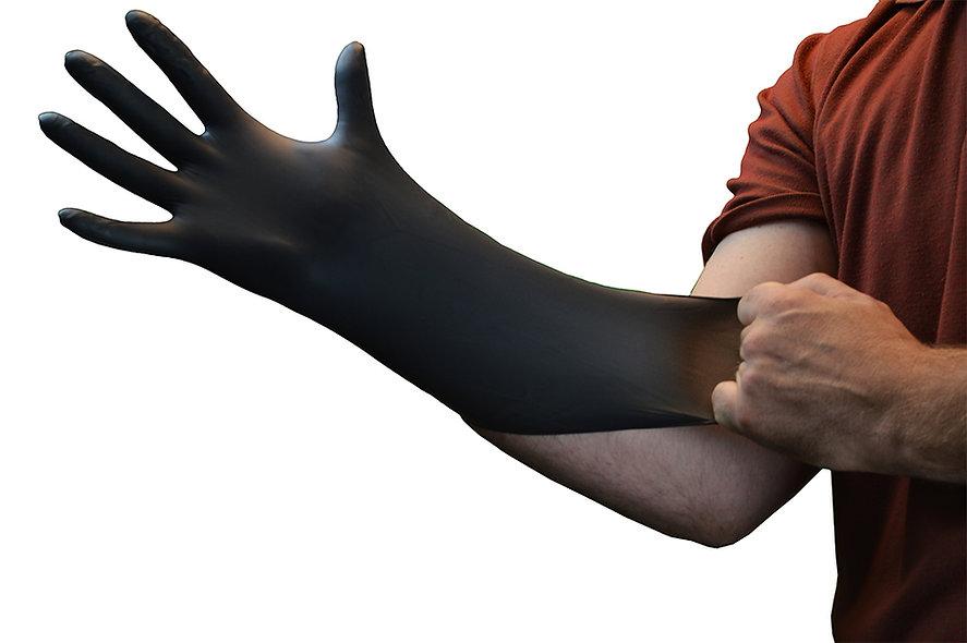 NITRILE GLOVE BLACK