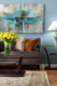 Pale Blue Living room interior design, Interior designers in Atlanta