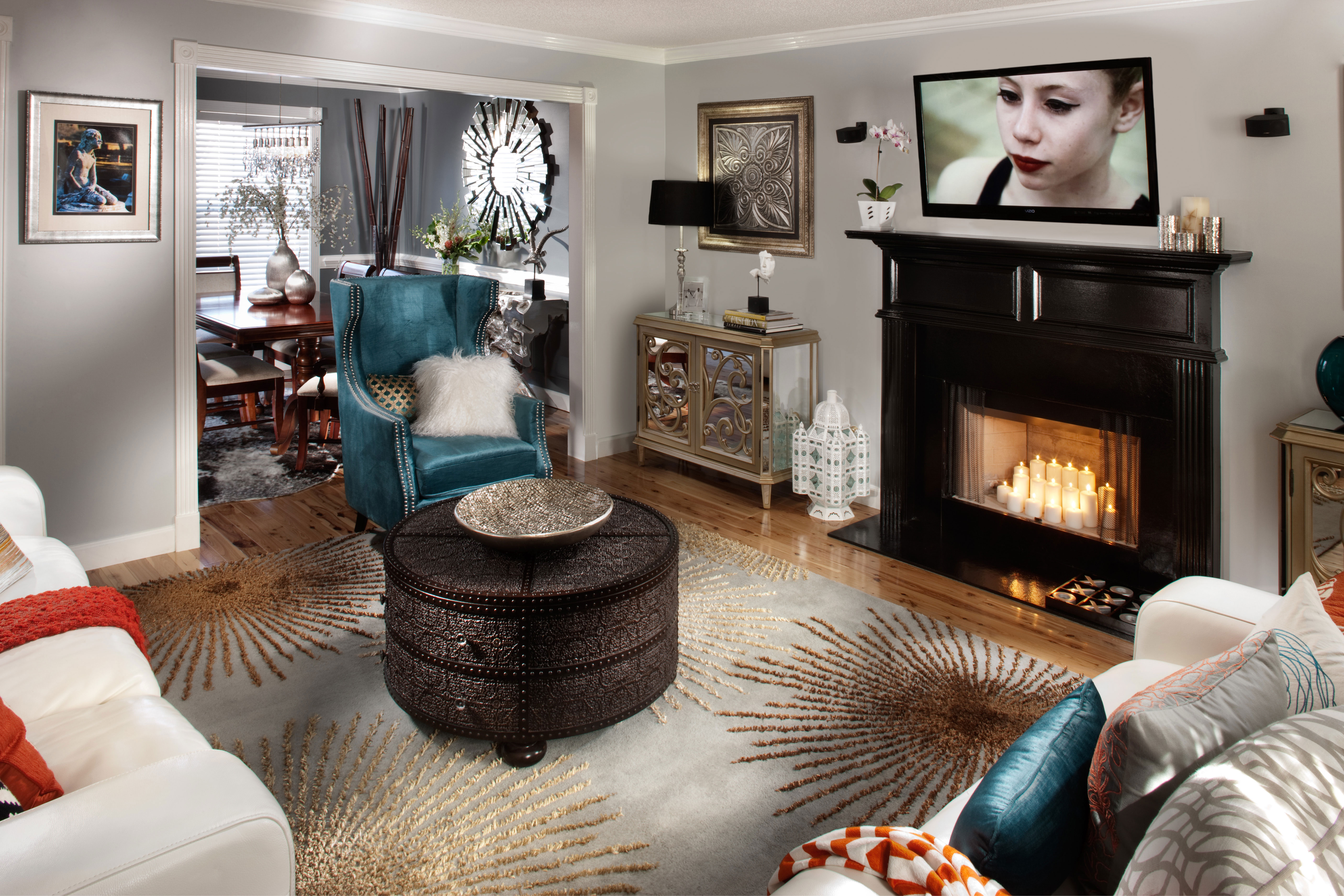 Light Grey Living Room