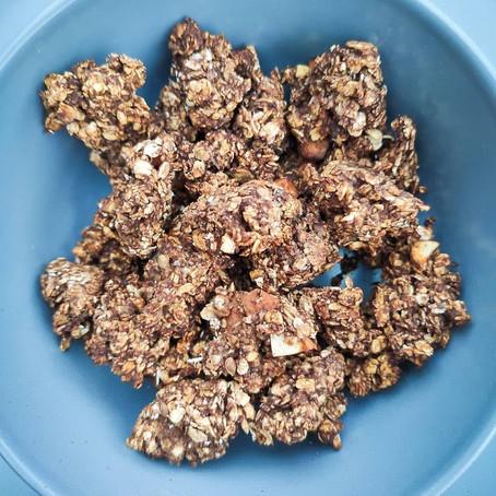 Granola maison sans sucre ajouté