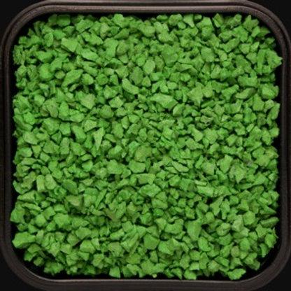 Крошка цветная резиновая Светло-зелёная