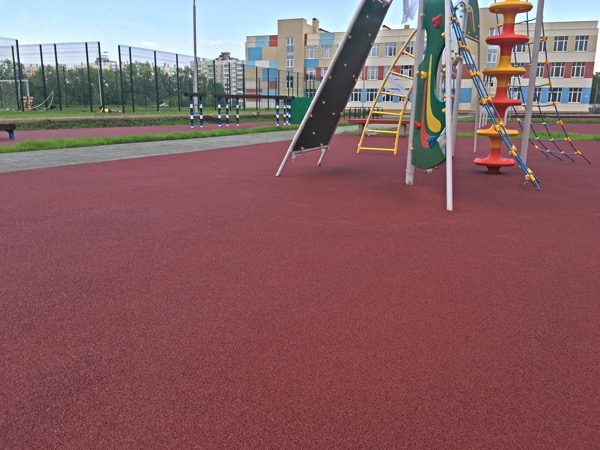 Школьная спортивная площадка