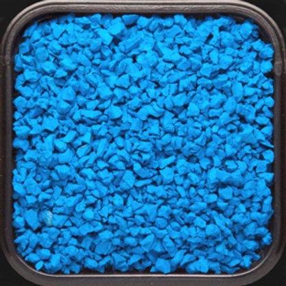 Крошка цветная резиновая Голубая