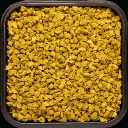 Крошка цветная резиновая Жёлтая