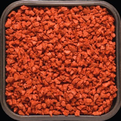 Крошка цветная резиновая Оранжевая