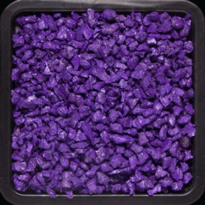 Крошка цветная резиновая Фиолетовая