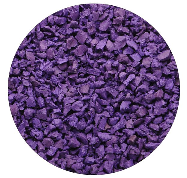 Фиолетовая резиновая крошка Цветорика
