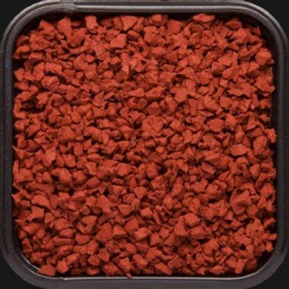 Крошка цветная резиновая Терракотовая