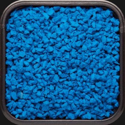 Крошка цветная резиновая Синяя