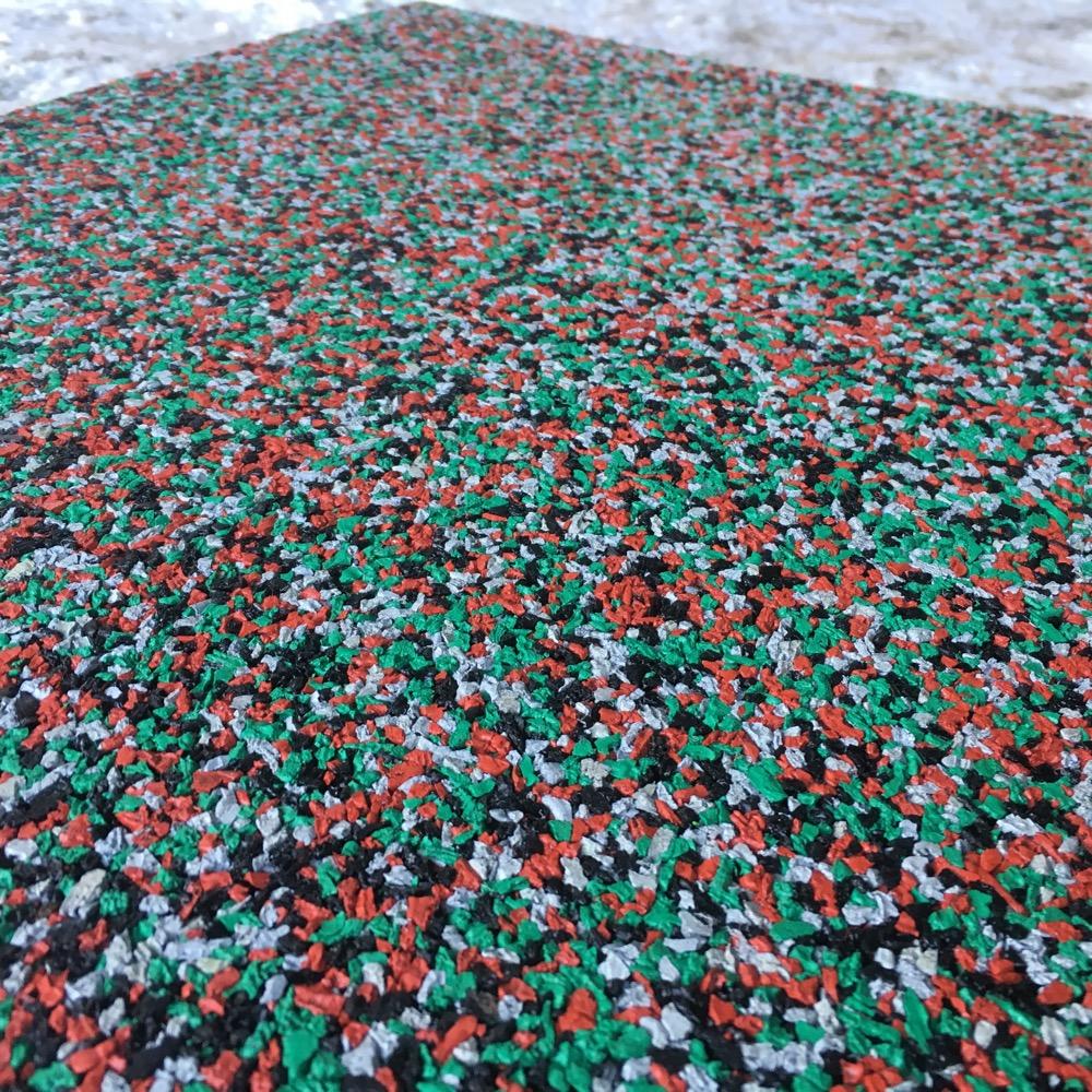 Смесь цветной резиновой крошки Цветорика