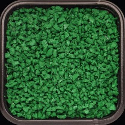 Крошка цветная резиновая Травянисто-зелёная