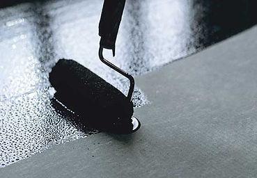 Грунтование пверхности под резиновое покрытие