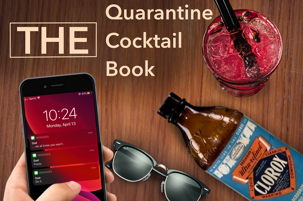The Quarantine Cocktail Book