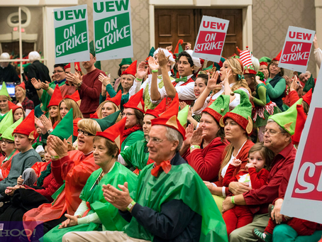 BREAKING: The United Elf Workers Union Goes on Strike, Leaving X-Mas in Peril