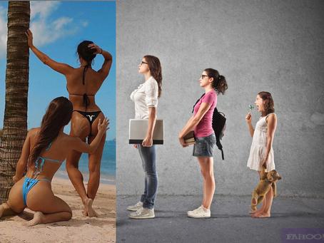 The First Ever Recorded Evolution Of An Instagramus Modellian (Instagram Model)