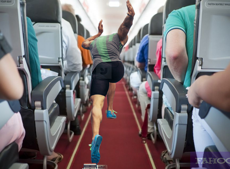 The Plane Sprinter - A Poem Dedicated To Those Who Rush The Aisle