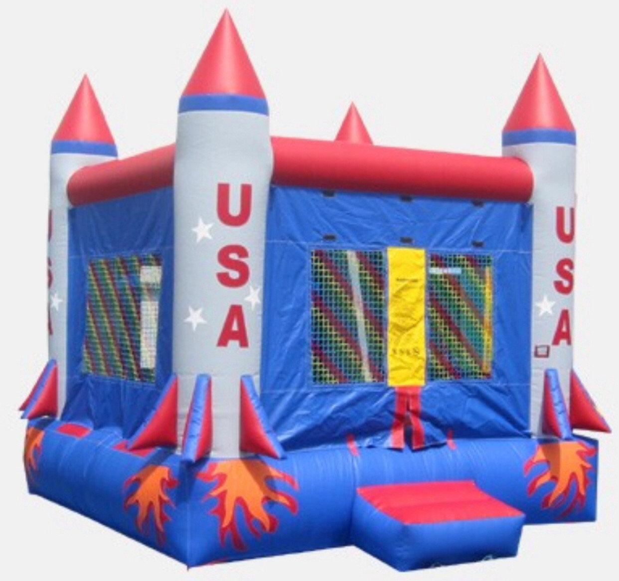 Rocket Bounce House