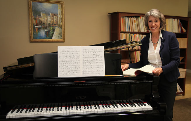 voice and piano teacher, Christine Lehman Voice and Piano
