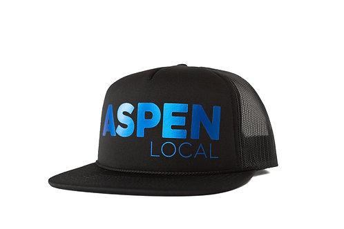 Aspen Local Limited Edition Trucker - Metallic Bluebird